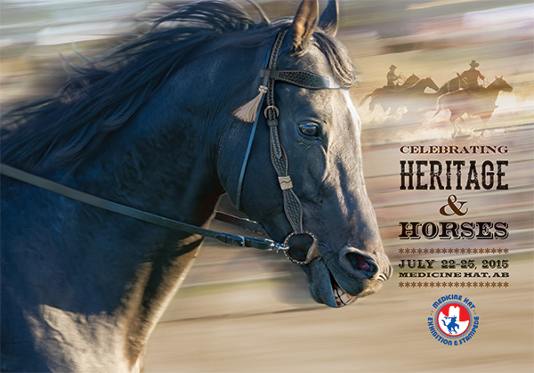 Medicine Hat Exhibition and Stampede Poster 2015