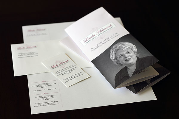 Dr. Linda Hancock Stationery and Brochure
