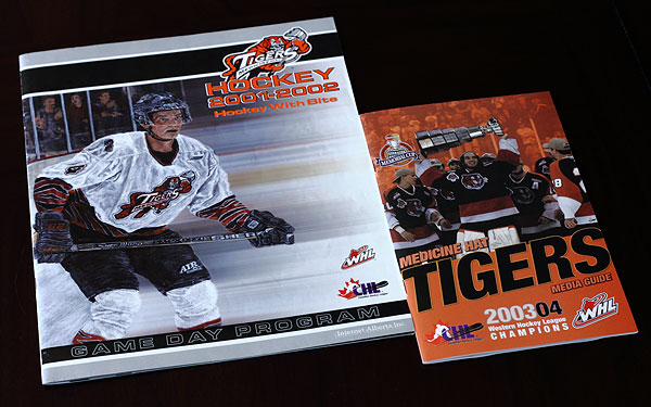 Tigers Hockey Game Day Program and Media Guide